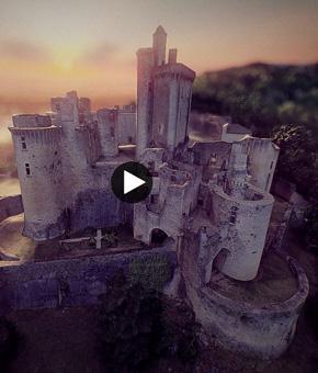 Le château en 3D