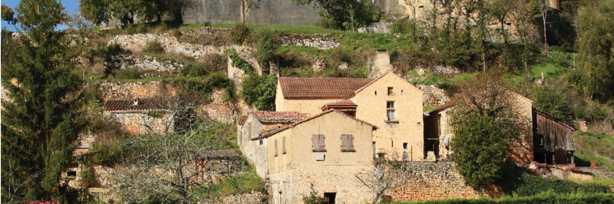 Affiche du château de Bonaguil sud ouest 2014